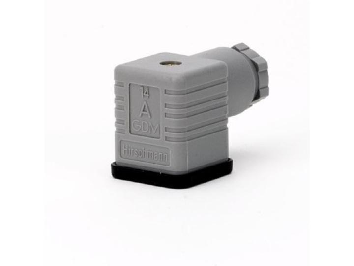 Штекер для подключения катушек ВВ Danfoss