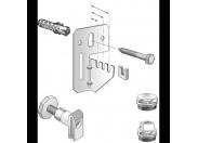 Комплект для крепления стальных панельных радиаторов с заглушкой и воздухоотводчиком VOGEL&NOOT для радиаторов типа K (боковое подключение) длиной более 1600м