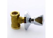 """Кран вентильный ВВ для скрытой подводки с хромированным вентилем ITAP 3/4"""""""