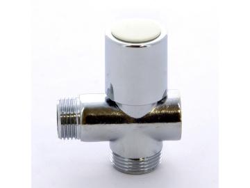 """Вентиль проходной для стиральных машин хромированный ITAP 1/2""""х3/4""""х1/2"""""""