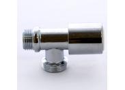 """Вентиль компактный для стиральных машин хромированный ITAP 1/2""""х3/4"""""""
