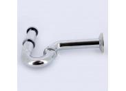 Сифон трубный c горизонтальным отводом хромированный VIEGA