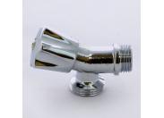 """Вентиль компактный для стиральных машин MINNESOTA хромированный BUGATTI 1/2""""х3/4"""""""