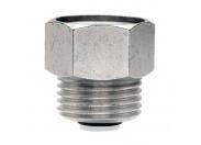 """Клапан для монтажа/демонтажа вохдухоотводчика никелированный ITAP 1/2""""х1/2"""""""