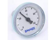Термометр биметаллический 40мм для коллекторных групп EMMETI 80 град.C