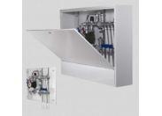 Шкаф коллекторный металлический накладной UNI-FITT 1340х651-691х125