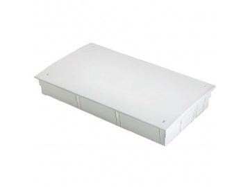 Шкаф коллекторный металлический встраиваемый UNI-FITT 1340х670-760х125-195