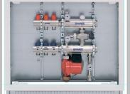 Насосно-смесительный модуль Firstbox (2+2)A+1B с коллекторной группой