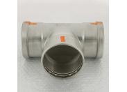 Тройник пресс нержавеющая сталь Sanpress Inox VIEGA 108