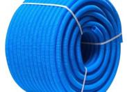 Гофра синяя UNI-FITT 32 для труб 20-26 бухта 50 м