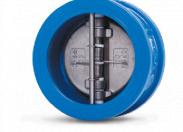 Клапан обратный Water Тechnics DFC WT DN100 двухстворчатый, межфланцевый, чугун