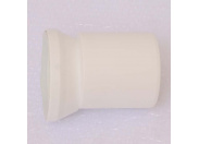 Отвод для унитаза белый с манжетным уплотнением VIEGA с эксцентриковой муфтой