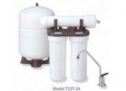 Система обратноосмотическая TS3T-24, с краном и мембранным баком Clack