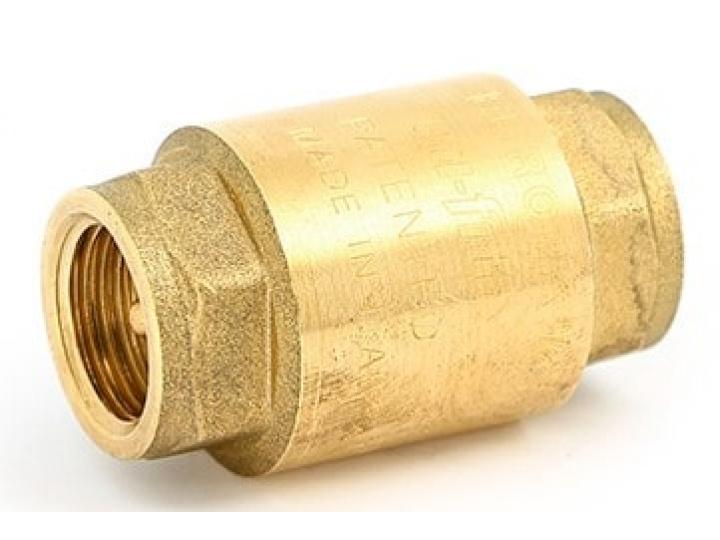 """Обратный клапан 1/2"""" Uni-Fitt мет."""