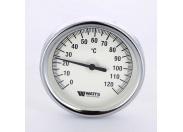 Термометр биметаллический самоуплотняющийся F+R801SD 80мм с погружной гильзой WATTS Ind 120 град.C гильза 50мм