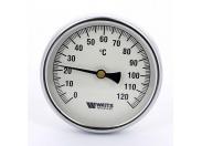 Термометр биметаллический самоуплотняющийся F+R801SD 100мм с погружной гильзой WATTS Ind 120 град.C гильза 50мм