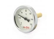 """Термометр погружной аксиальный 1/2"""" UNI-FITT 63 мм"""