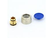 Соединитель обжим-В никелированный для трубы RAUTITAN flex/pink REHAU 16х2.2 ЕК