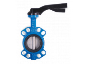 Затвор дисковый Water Тechnics BVF WT DN125 поворотный межфланцевый, диск - нерж. сталь