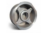 Клапан обратный Water Тechnics SCS WT DN 50 дисковый пружинный,  межфланцевый, нерж. сталь