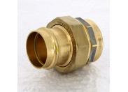 Муфта разъемная пресс-В плоская прокладка бронза Profipress G VIEGA 54x2'
