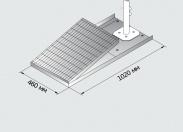 Панель для стационарных душей Broen