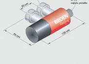 Термостатический смеситель для душа Broen