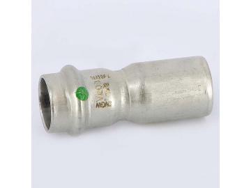 Вставка пресс нержавеющая сталь Sanpress Inox VIEGA 22х18