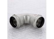 Угол пресс нержавеющая сталь Sanpress Inox VIEGA 35
