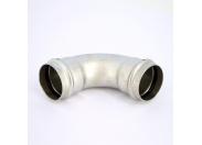 Угол пресс нержавеющая сталь Sanpress Inox VIEGA 54