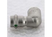 Угол пресс-В компактный нержавеющая сталь Sanpress Inox VIEGA 18х1/2'