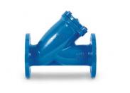 Фильтр сетчатый Water Тechnics FPM  DN100 Y-образный фланцевый со сливной пробкой и магнитной вставкой