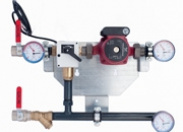 Узел регулирования DSM-H/TM-20-5.2-1.63 ТП DN25 Rp PN10 T=110C Расход 0.41 - 0.80 м3/ч Danfoss