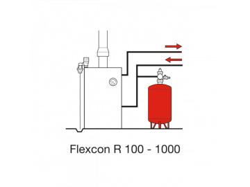 Расширительный бак Flamco Flexcon R 110л 1,5-6 бар