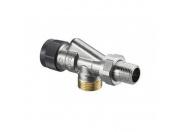 Кран для радиатора Oventrop 3/4 НР осевой для терморегулятора
