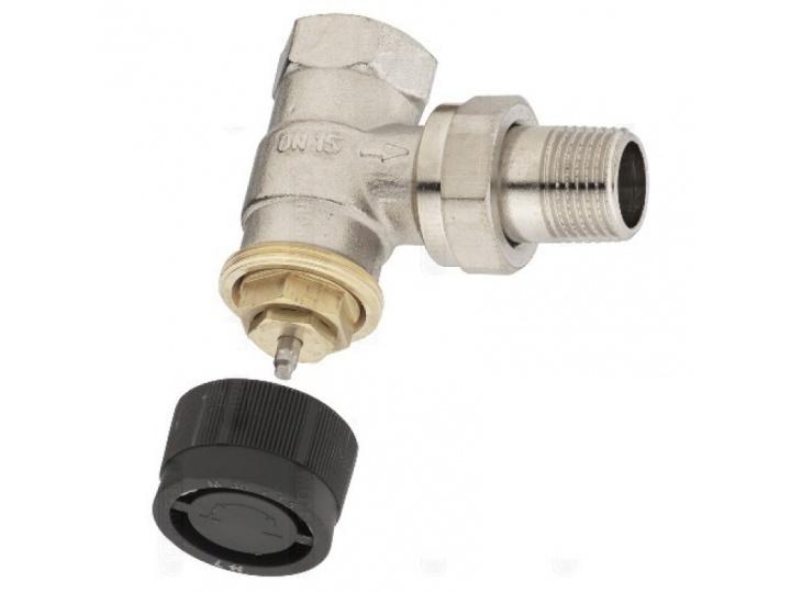 Кран для радиатора Oventrop 1/2 угловой для терморегулятора