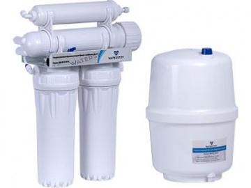 Установка обратноосмотическая Waterstry NW-RO50-NP34 4 ступени (50GPD, бак 11,6л, кран D-13)