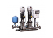 Станция повышения давления Бустер ВатТ УНМВ 2SB10-4-1,5-50-2-1-F, 2х 1,5кВт, 380 В, шкаф с 2ПЧ на базе Danfoss Vacon 20 (2 датчика) с насосами Waterstry Booster WatT (2104155021DAN2FC2S)