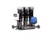 Станция повышения давления Бустер ВатТ УНМВ 3CR64-3-18,5-200-2-1-DAN, 3x 18,5 кВт, 380 В, шкаф с 3ПЧ на базе Danfoss (2 датчика) с насосами Grundfos Booster WatT (36431820011DAN3FC2S)
