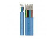 Кабель 4*1,5 мм2 для погружных насосов Aristoncavi H07RN8-F 450/750 В синий