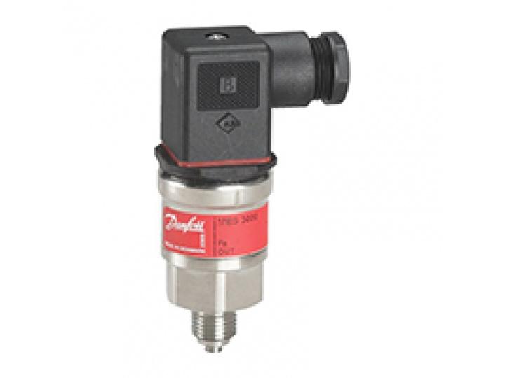 Датчик давления MBS 3000, 0...16 бар, G1/2, выходной сигнал 4-20 mA (с повер) Danfoss (060G4152)