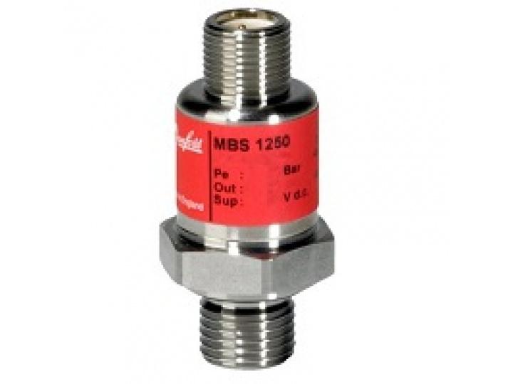 """Датчик давления MBS 1250 0,00 - 250,00 bar G 1/4"""" Danfoss (063G1229)"""