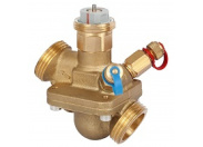 Комбинированный балансировочный клапан AQT DN25 (0,34-1,7) м3/ч c измерительными ниппелями Danfoss (003Z1814)