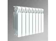 Радиатор биметаллический Rifar Monolit 500/100 8 секций нижнее правое подключение (арт. RM50010НП)