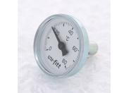 """Термометр погружной аксиальный 1/2"""" UNI-FITT 60'C, диаметр 33 мм"""