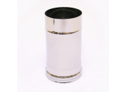 Дымоход Ferrum 0,25м Ф130 (430/0,5мм)