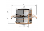 Монтажная площадка Ferrum Ф130х200 оцинкованная сталь (430)