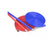 Трубки теплоизоляционные красные в бухтах 10 метров Energoflex Super Protect ROLS ISOMARKET 15/4