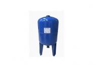 """Бак мембранный вертикальный Waterstry SPTS 50, 50л, с непроходной бутиловой мембраной, с подставкой, Pmax 10bar, 1"""", угл. сталь 1,5мм, Tраб -20/+99C"""