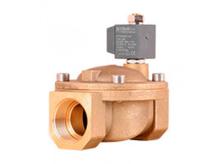 """Клапан соленоидный CEME D40 G 1 1/2"""" NBR ~1x230 В 50 Гц 2/2 ходовой нормально открытый"""